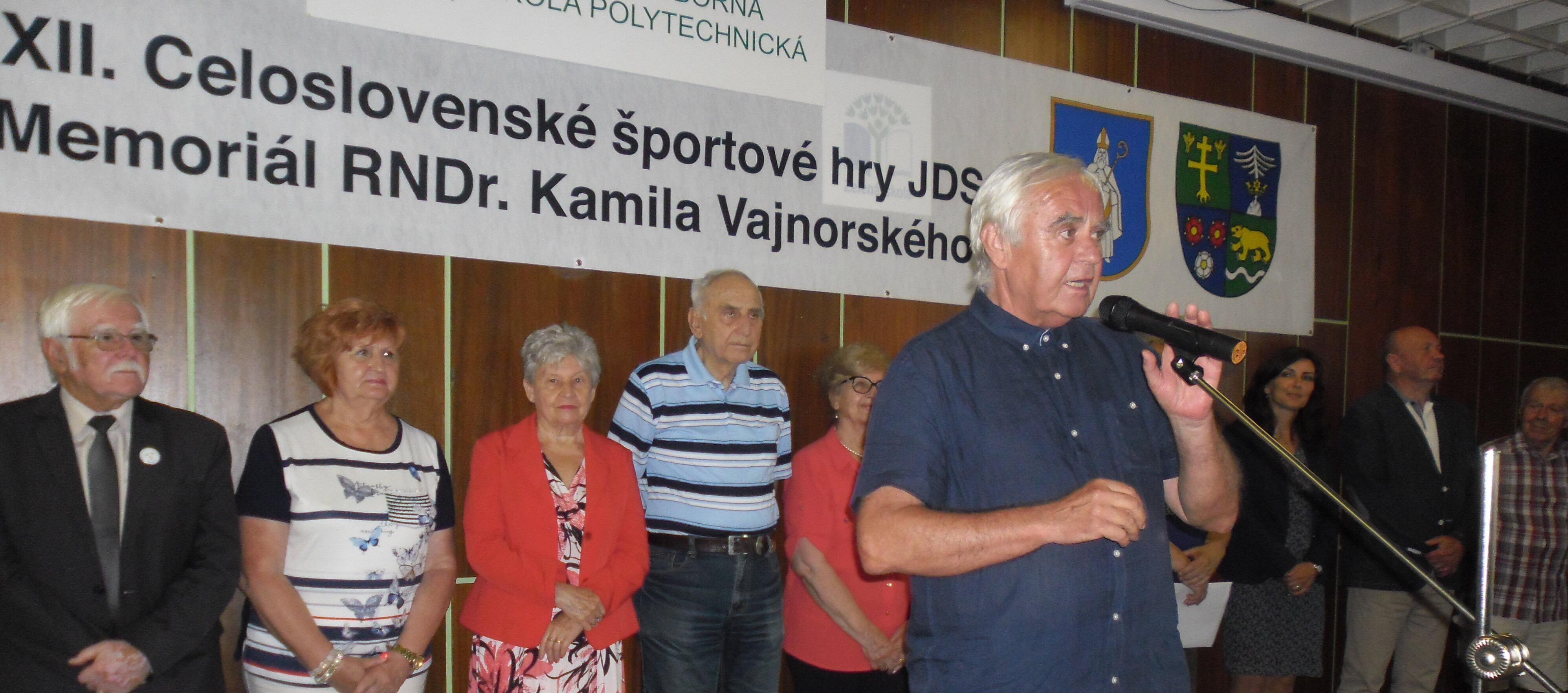 XXII. Celoslovenské športové hry JDS, Memoriál RNDr. Kamila Vajnorského 2019