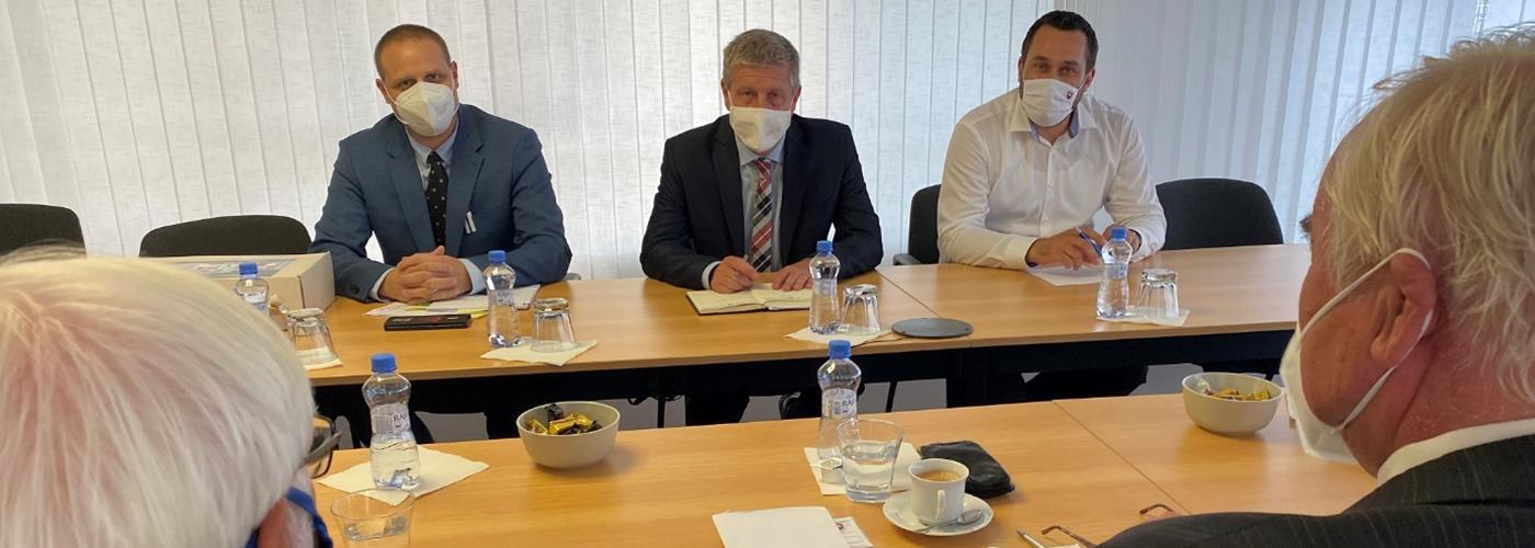 Delegácia predsedníctva JDS u ministra zdravotníctva SR